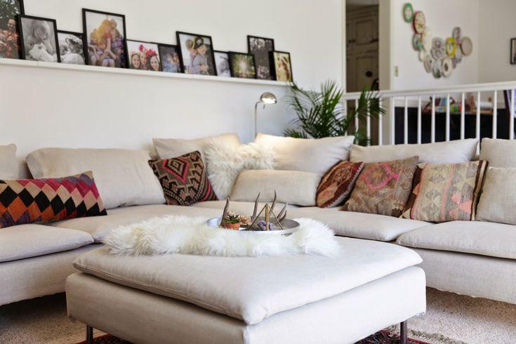 loveliesinmylife blog soderhamn sectional makeover in. Black Bedroom Furniture Sets. Home Design Ideas