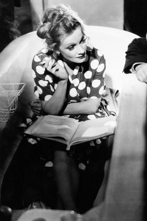 Marlene Dietrich, 1937, on the set of Knight Without Honor  frommeow-retrogasm