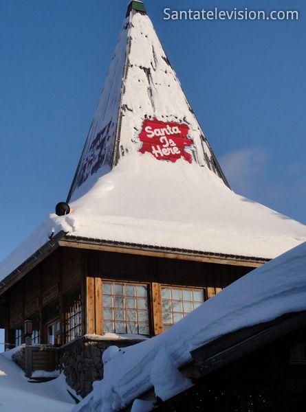 Büro des Weihnachtsmannes in Rovaniemi in Lappland (Finnland)