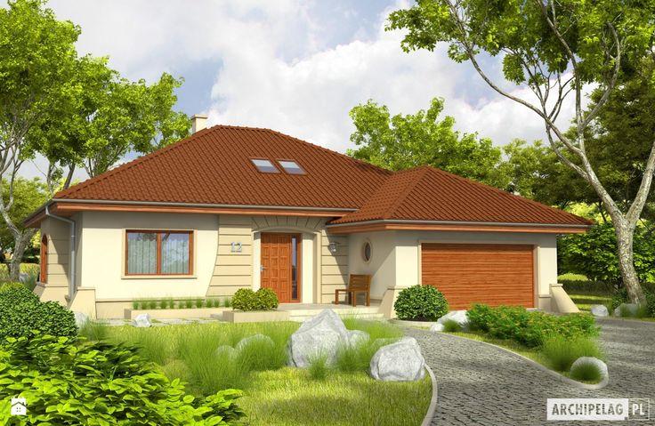 Projekt domu Kornelia IV G2 - zdjęcie od Pracownia Projektowa ARCHIPELAG - Domy - Styl Klasyczny - Pracownia Projektowa ARCHIPELAG