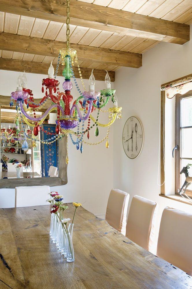 Ilham Alabileceginiz Harika Bir Ciftlik Evi ♥-Kalzeno Dekorasyon