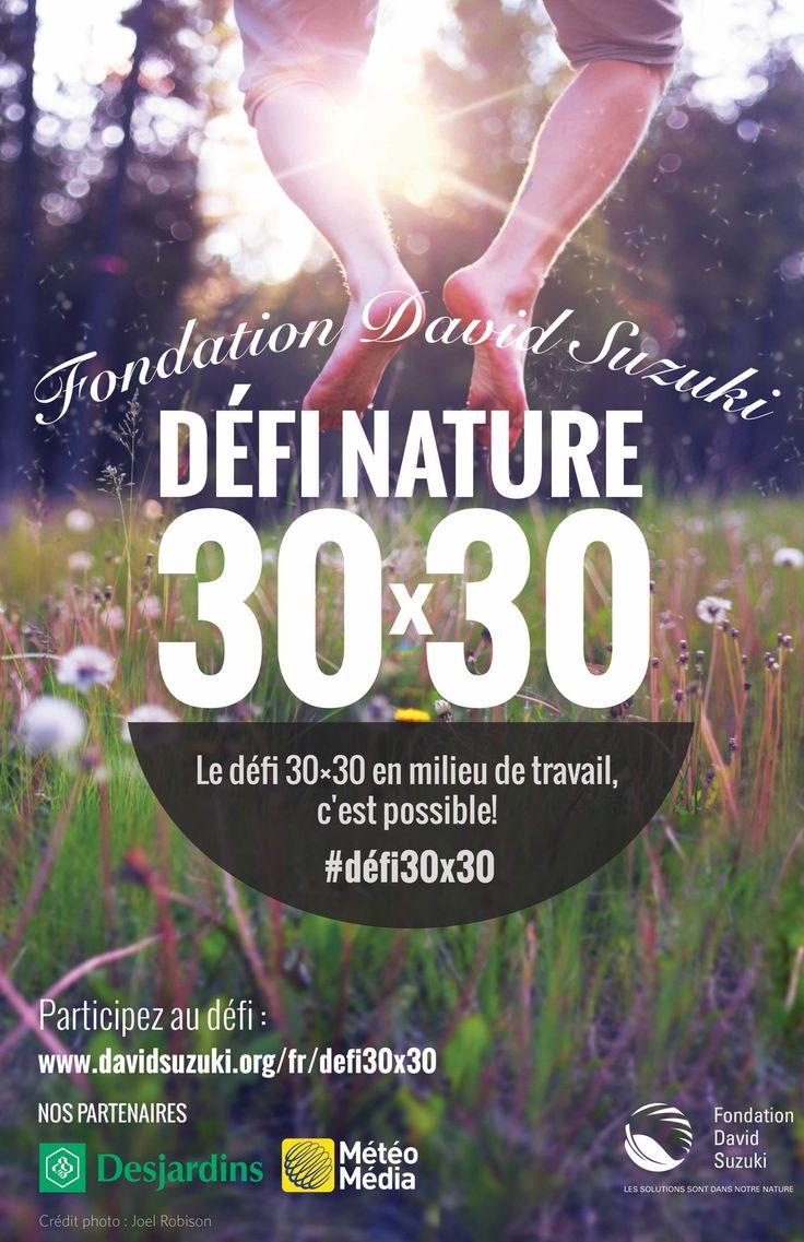 Affiches du Défi nature 30x30 cover