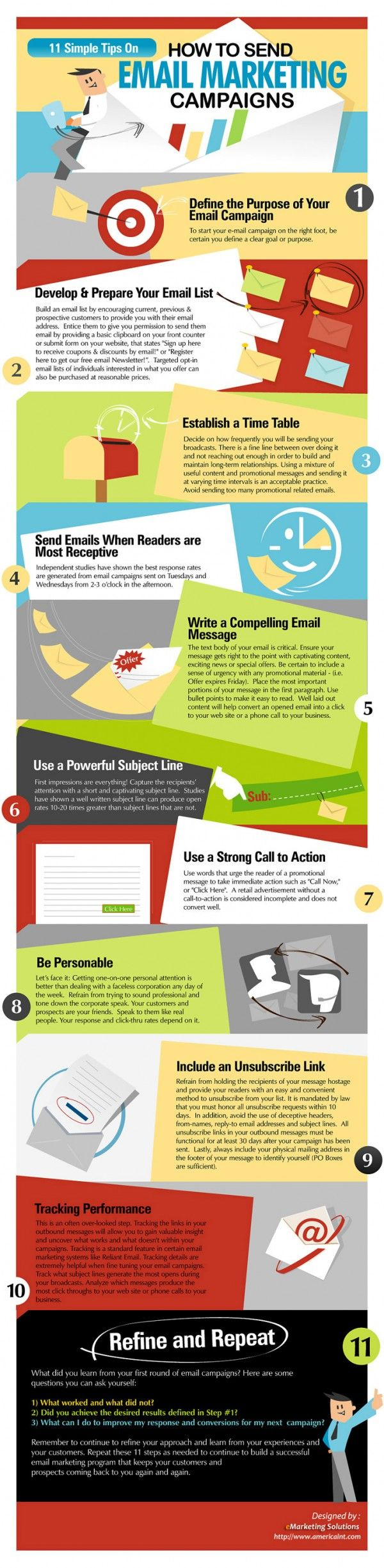 11 Simple Tips to Create the Perfect Email Marketing Campaign