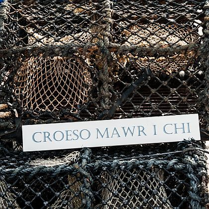 Welsh 'Big Welcome' Croeso Mawr Sign
