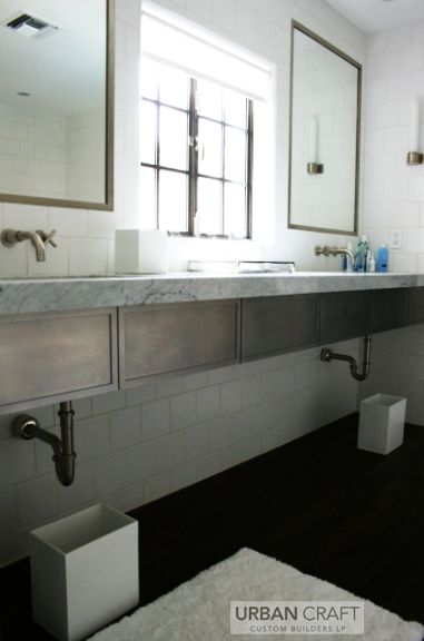 Chic Industrial Bathroom Part 74