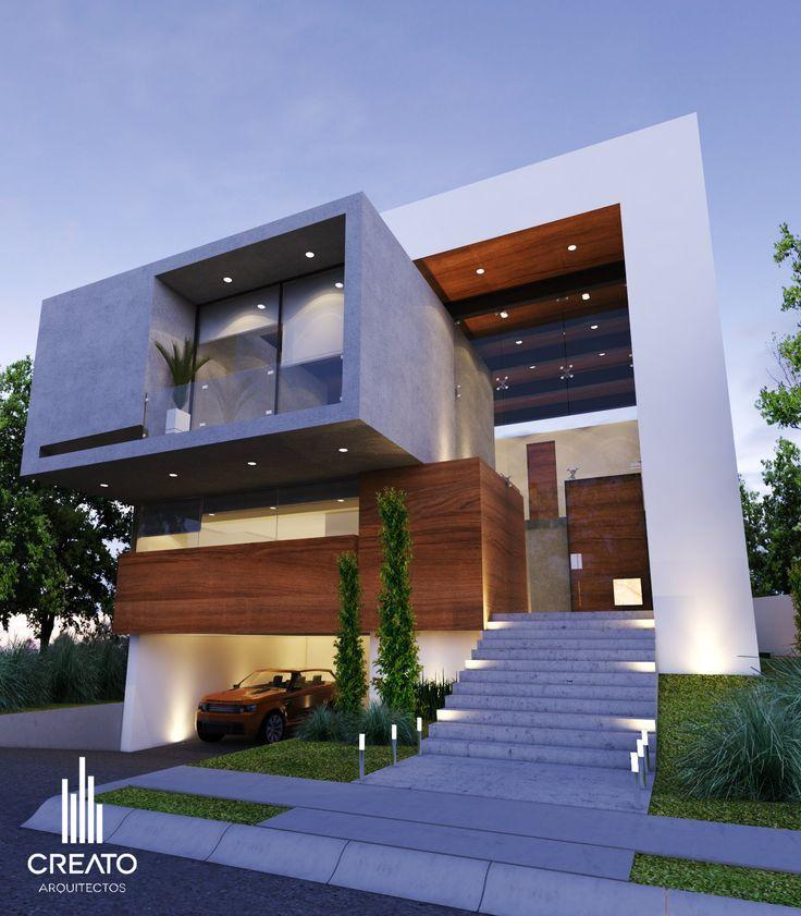 Casa campo lago por creato arquitectos arquitetura for Arquitectura minimalista casas