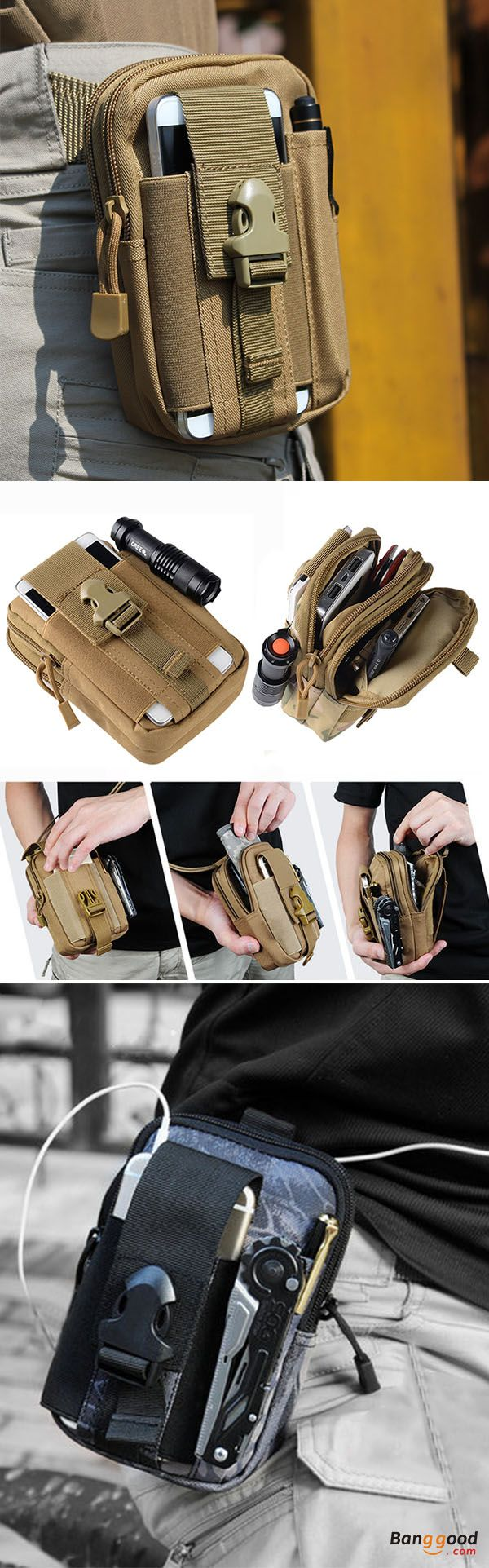 5.5/6 Inch Men Tactical Waist Bags Outdoor Sports Mobile Phone Case for iPhone SAMSUNG. This Bag can fit in cellphone under 6inch(including 6 inch). Waterproof, durable and portable.Suitable for outdoor, travel and sports, such as camping, cycling, hiking, etc. 11 colors to choose, shop now!