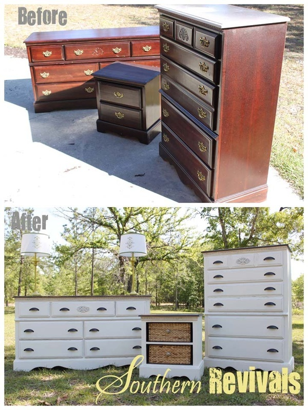 Outdated furniture turned fab!: