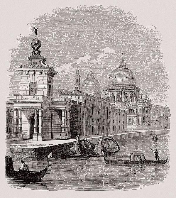 Venice. St.Maria Salute on Behance