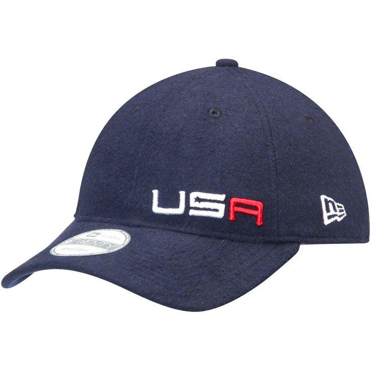 Ryder Cup New Era Captains 9TWENTY Adjustable Hat - Blue - $24.99
