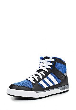 Высокие кеды adidas Neo. Обувь выполнена из искусственной кожи и дополнена вставками из текстиля. Детали: мягкая подкладка, резиновая подошва, плотная шнуровка. http://j.mp/1nlqDMI