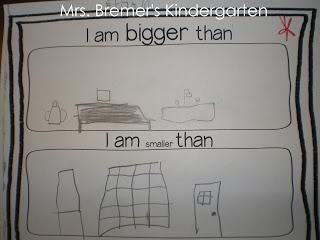 Mrs. Bremer's Kindergarten Measurement