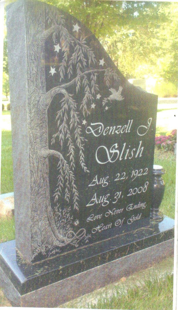 My Mothers Head Stone I made for her...