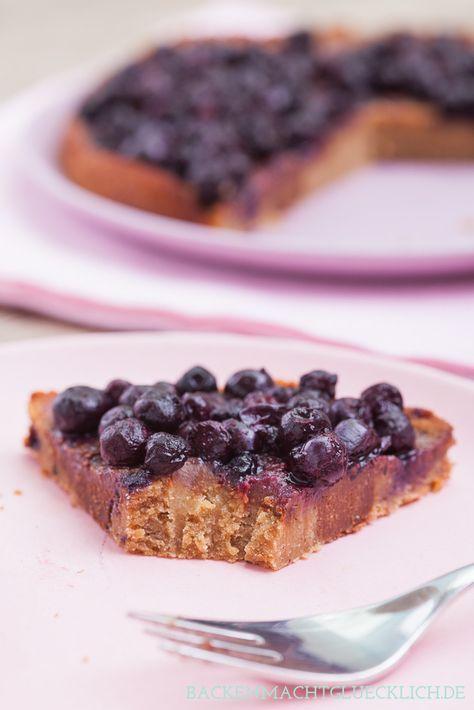 Cremig, soft, köstlich - und das ohne Mehl, Ei, Zucker und Butter: Kuchen mit Kichererbsen | http://www.backenmachtgluecklich.de