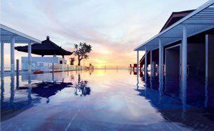 Another nice pool...courtesy of Best Western Kuta Beach Kuta, Bali