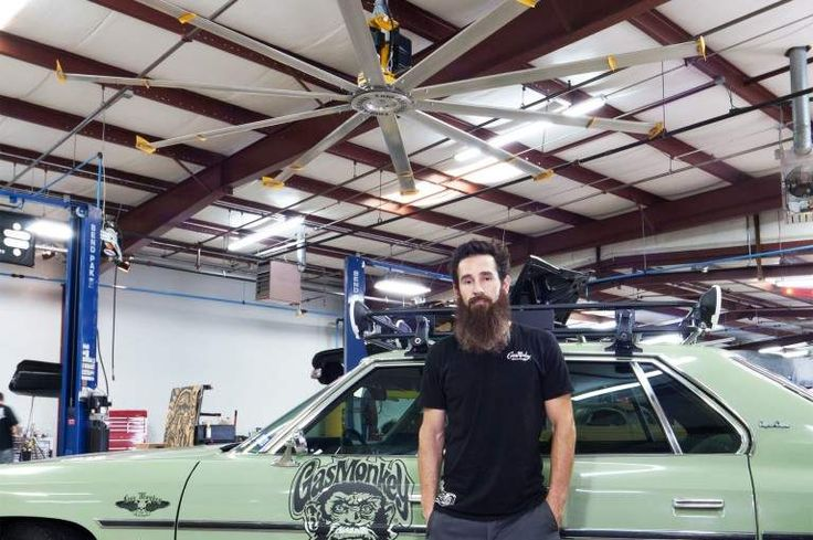 The show is douch-ie but the fan me likey!  HVLS Fans | Industrial & Commercial Ceiling Fans | Big Ass Fans
