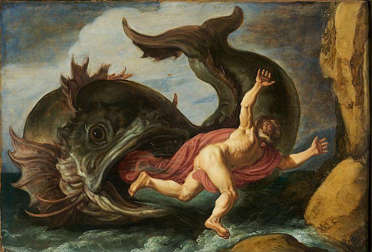 Jonah and the Whale / Jonas und der Wal / Jonás y la ballena // 1621 //  Pieter Lastman // Museum Kunstpalast Düsseldorf