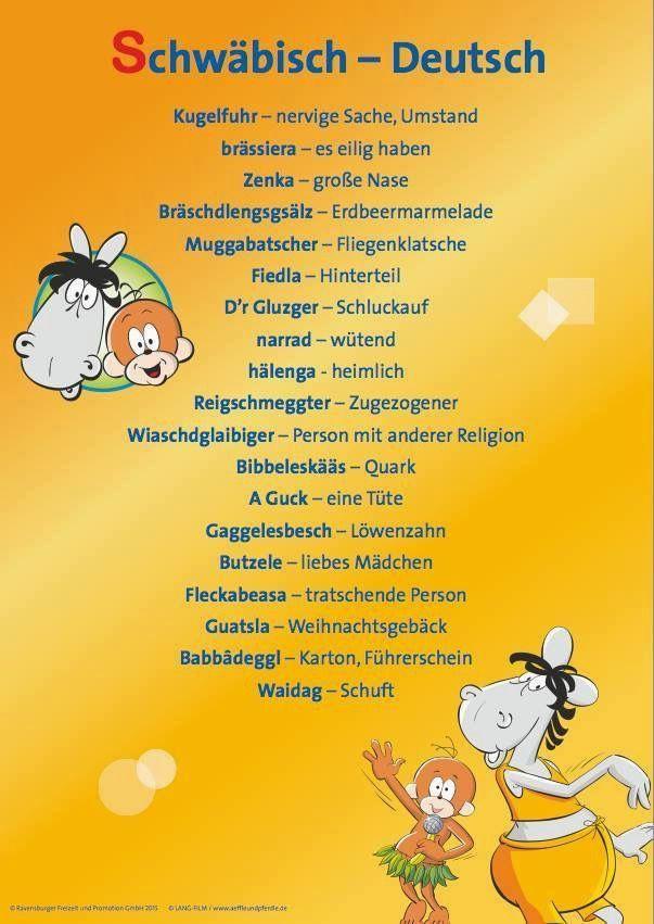 Spruch Zum Geburtstag Lustig In 2020 Schwabische Spruche