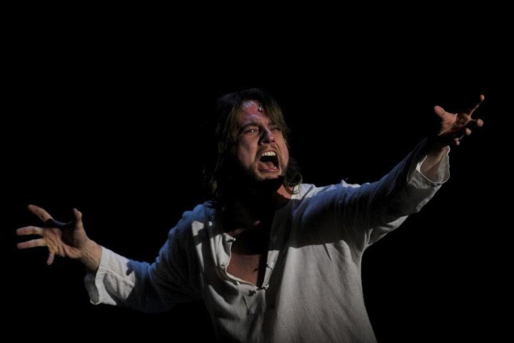 Cantando Getsemaní en Jesucristo Superstar