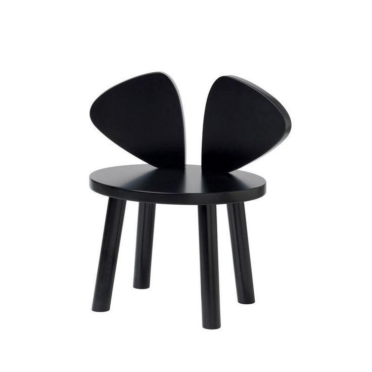 Køb Nofred børnemøbler Mouse Chair og Mouse Table her | LirumLarumLeg