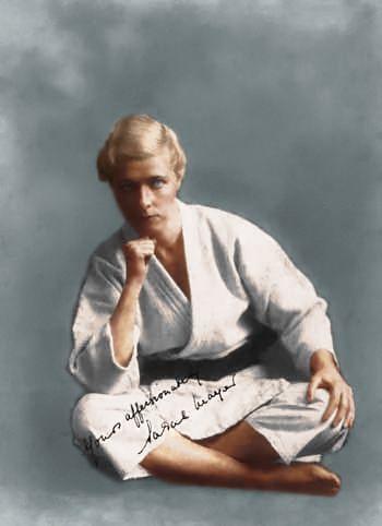First woman black belt