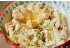 Heerlijk fris gerecht voor bij de barbecue of bij een koude schotel.