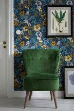 Ellos Home Fåtölj Milla Mörkgrön, Grön - Fåtöljer | Ellos Mobile