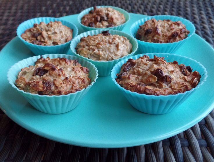 Havermout kwark muffins