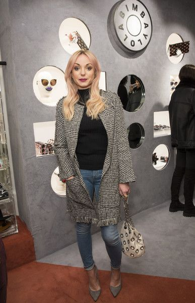 Helen George attends the Bimba Y Lola Regent Street pop up store launch on November 8, 2016 in London, England.