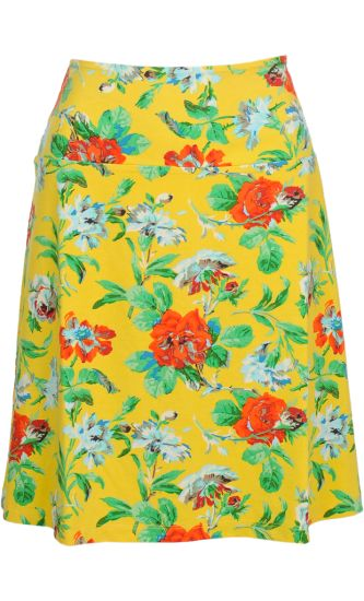Vintage inspired summer skirt with flowers - King Louie SS2014