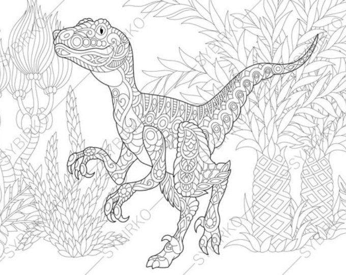 Pterodactyl Dinosaur Pterosaur Dino Coloring Pages Animal Etsy Dinosaur Coloring Pages Coloring Pages Dinosaur Coloring
