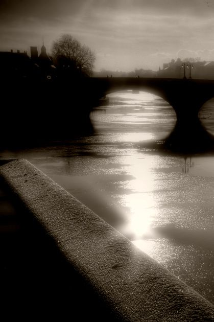 Ouse Bridge Silhouette...