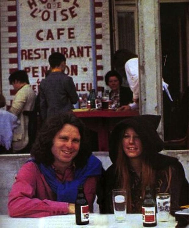 Jim Morrison #lastphoto pamelacourson