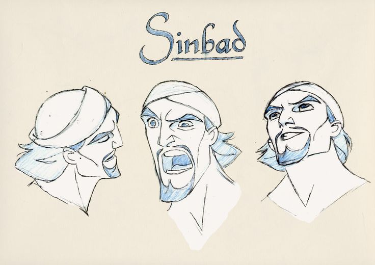 Character Design Library : Best images about sinbad legend of the seven seas on