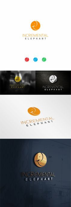 incremental elephant logo design v.01                                                                                                                                                      More