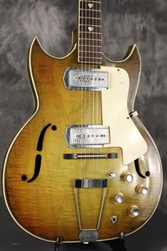 1960's Custom Kraft (KAY) semi-hollowbody guitar