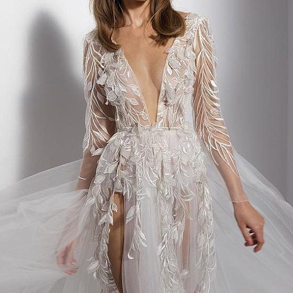 Best 21 Wedding Dresses And Jumpsuits Ideas For A Vegas Wedding Sheer Wedding Dress Vegas Wedding Dress Baby Blue Wedding Dresses