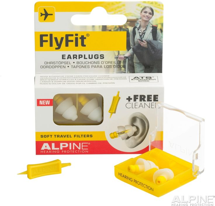 Špunty Alpine FlyFit