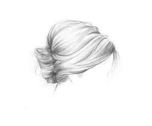 Coiffure 365C - Anis  Les incontournables  Petit chignon bas façon Brigitte Bardot.  (Cheveux courts, mi-longs, longs)