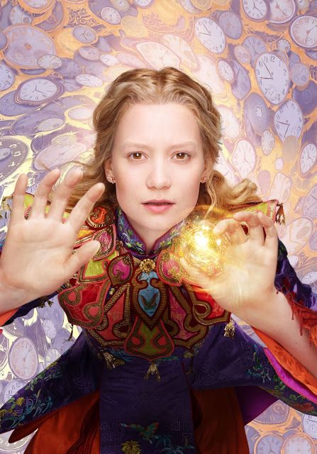 Alice Through The Looking Glass Character Poster - Alice