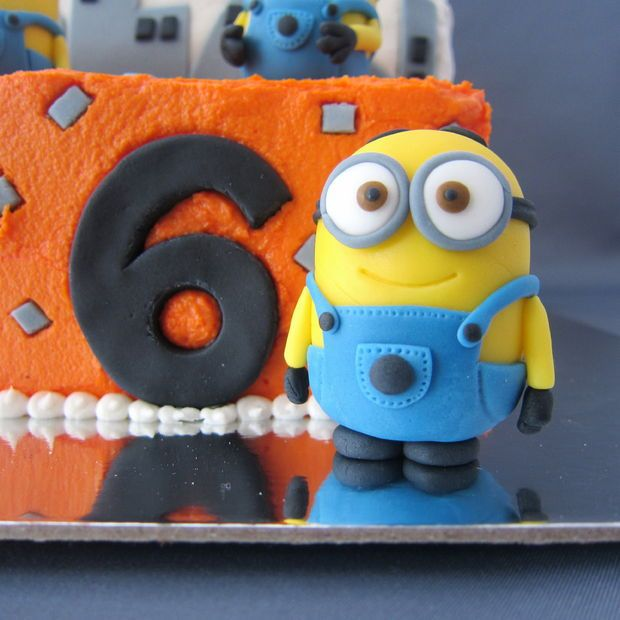 How to make fondant minions step by step guide