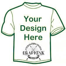 Design your own t shirts with graphink at cost effective price, we offer latest & best design t shirts for men, women & kids. Customize your own t shirts with best designs apparel in our online studio.