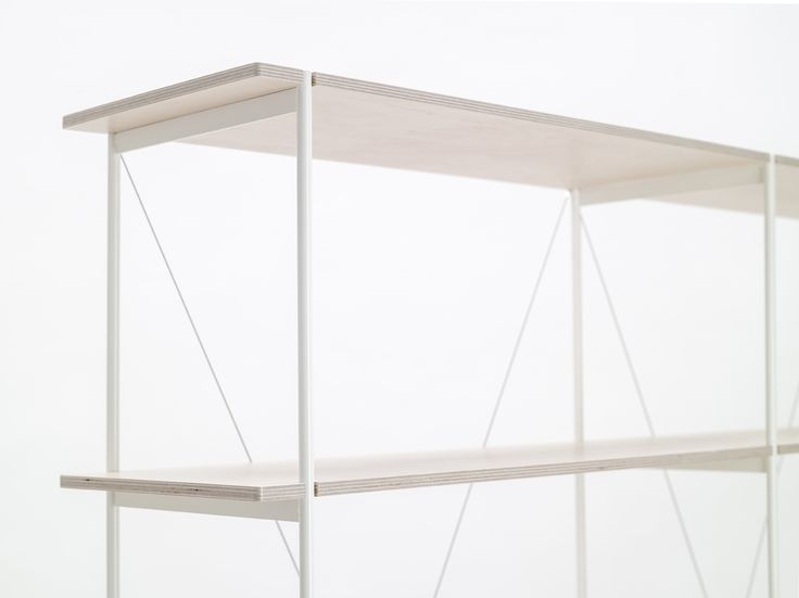 Shelf One Is Based On Plywood Sheets That Lock Into A Metal Frame, Which Is