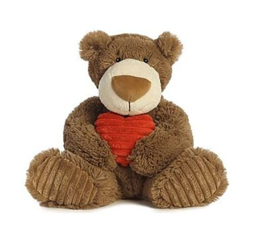 Dan Dee 158788: New Brown Soft Teddy Bear With Red Heart 12 Plush Valentines Day Gift 8 Ounces -> BUY IT NOW ONLY: $34.95 on eBay!