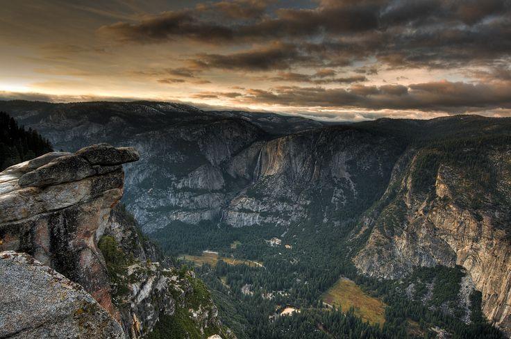 Glacier Point, Yosemite Valley CA