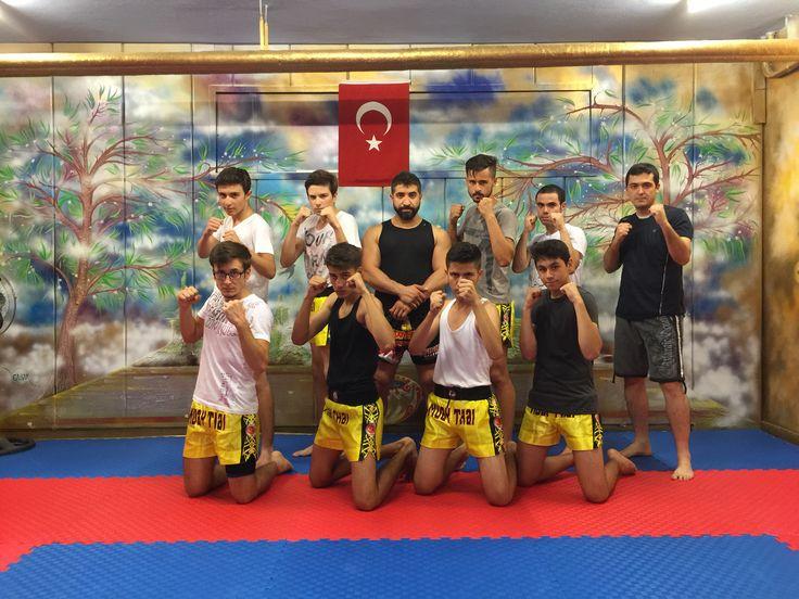 Muay Thai dersinden