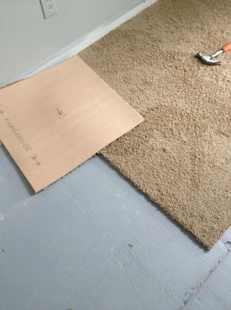 Carpet Squares Easy Cheap Alternative To Re Carpeting A
