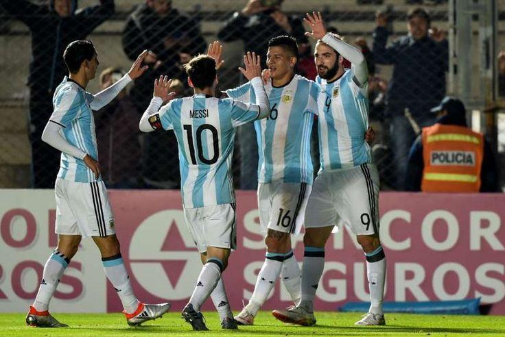 Las fotos de Argentina-Honduras.