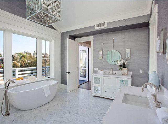 Bathroom Master Bathroom Design Bathroom With Two Separate Vanities Masterbathroom Bathroom