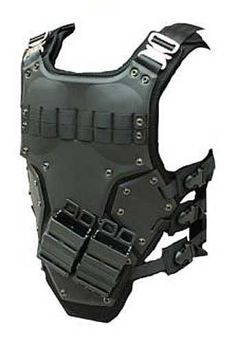 Airsoft TF3 High Speed Tactical Armor by NcStar. $89.99. The Airsoft Tactical High Speed Body Armor is the perfect platform for a lightweight load out. This futuristic body armor looks extremely aggressive when paired with the right accessories. The provided MOLLE webbing provides just enough real estate for pouches without overdoing it, making this vest ideal for the high speed operator. The hard neoprene armor plates provide comfortable protection without weighing you down.